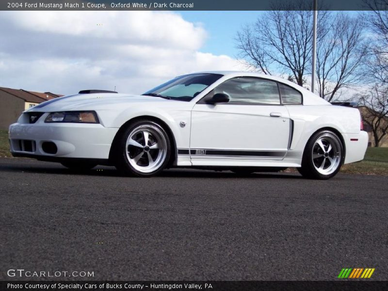 2004 mustang mach 1 coupe oxford white photo no 41626358 gtcarlot. Black Bedroom Furniture Sets. Home Design Ideas