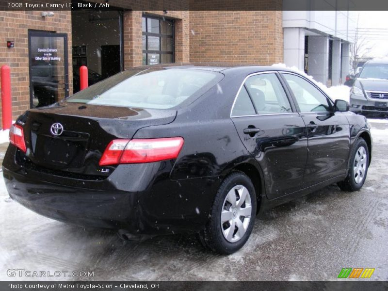 2008 toyota camry le in black photo no 41716158. Black Bedroom Furniture Sets. Home Design Ideas