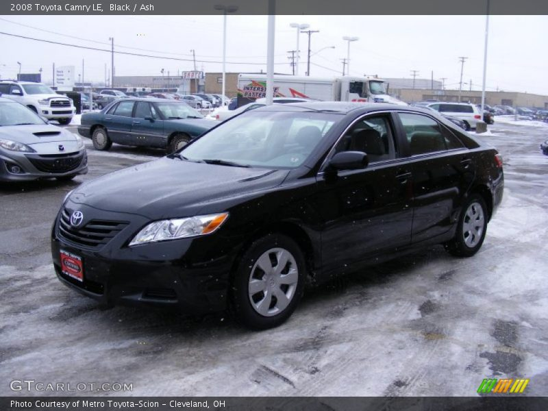2008 toyota camry le in black photo no 41716202. Black Bedroom Furniture Sets. Home Design Ideas