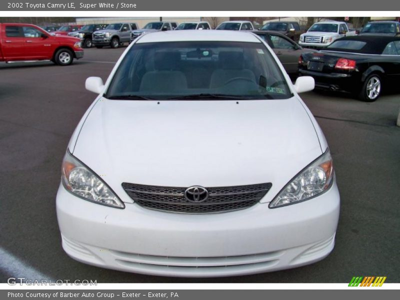 2002 toyota camry le in super white photo no 41841021 for G stone motors used cars