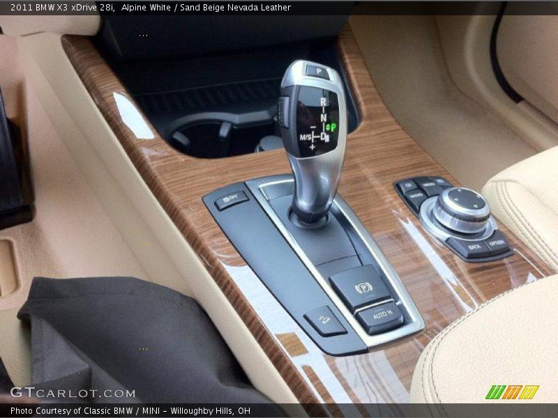 2011 X3 xDrive 28i 8 Speed Steptronic Automatic Shifter