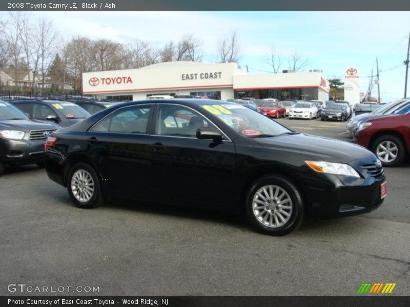 2008 toyota camry le in black photo no 41898480. Black Bedroom Furniture Sets. Home Design Ideas