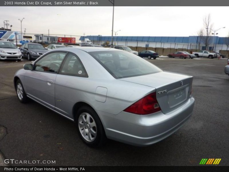 2003 honda civic ex coupe in satin silver metallic photo. Black Bedroom Furniture Sets. Home Design Ideas