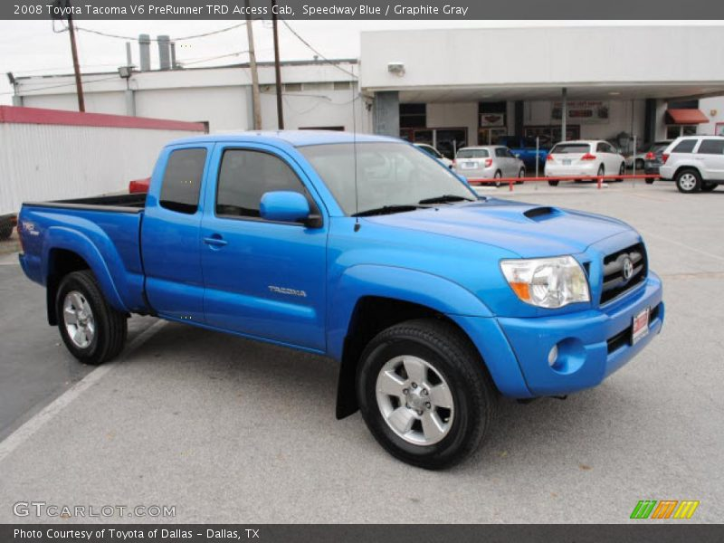 2008 toyota tacoma v6 prerunner trd access cab in speedway blue photo no 41989127. Black Bedroom Furniture Sets. Home Design Ideas