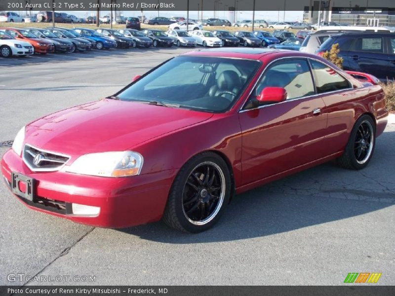 2001 acura cl 3 2 type s in san marino red photo no 42225392. Black Bedroom Furniture Sets. Home Design Ideas