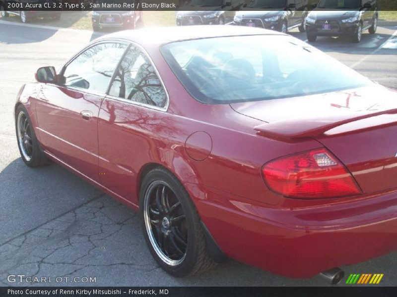 2001 acura cl 3 2 type s in san marino red photo no 42225500. Black Bedroom Furniture Sets. Home Design Ideas
