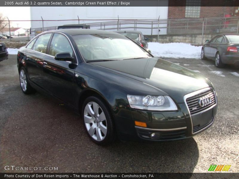 2005 Audi A6 3 2 Quattro Sedan In Cambridge Green Pearl