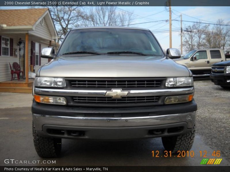 2000 chevrolet silverado 2500 ls extended cab 4x4 in light pewter metallic photo no 42271195. Black Bedroom Furniture Sets. Home Design Ideas