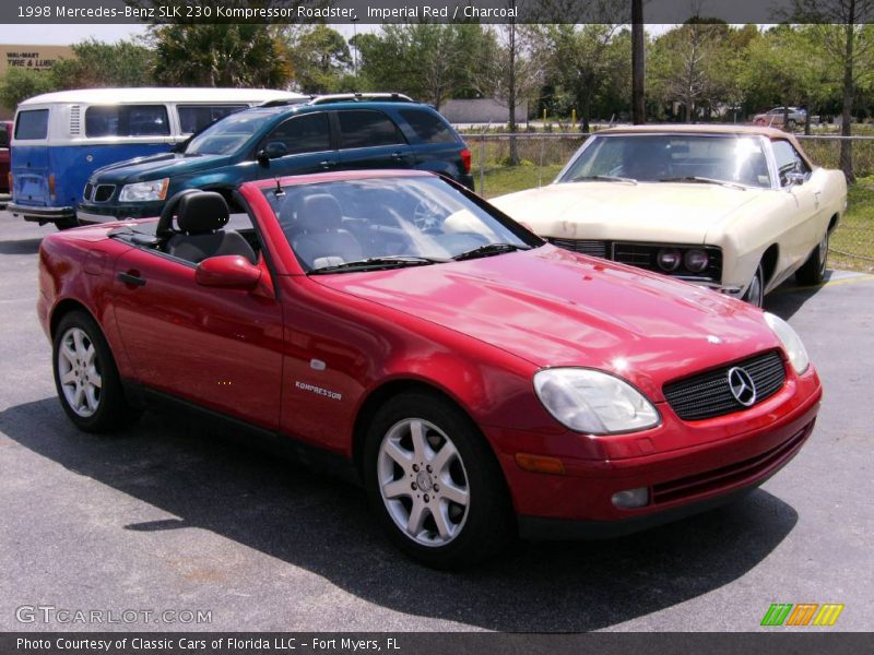 1998 mercedes benz slk 230 kompressor roadster in imperial red photo no 422723. Black Bedroom Furniture Sets. Home Design Ideas
