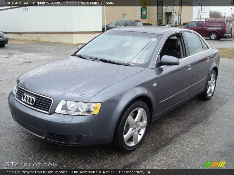 2004 audi a4 3 0 quattro sedan in dolphin grey metallic photo no 4232797. Black Bedroom Furniture Sets. Home Design Ideas