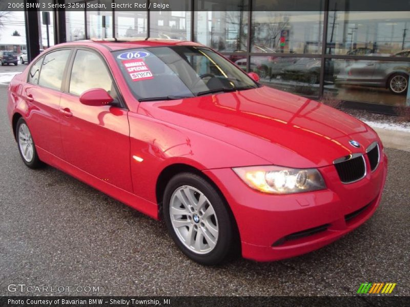 2006 bmw 3 series 325xi sedan in electric red photo no 42630320. Black Bedroom Furniture Sets. Home Design Ideas
