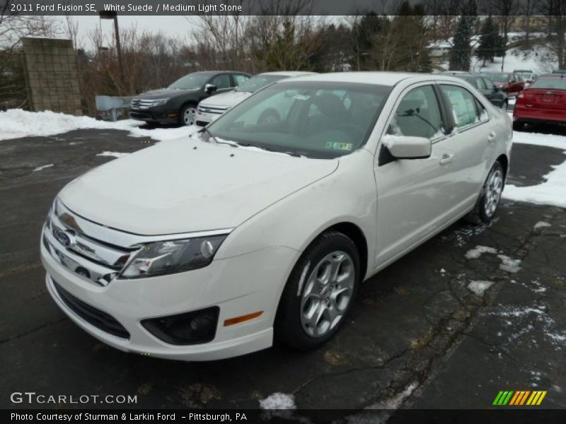 2011 ford fusion se in white suede photo no 42815274. Black Bedroom Furniture Sets. Home Design Ideas