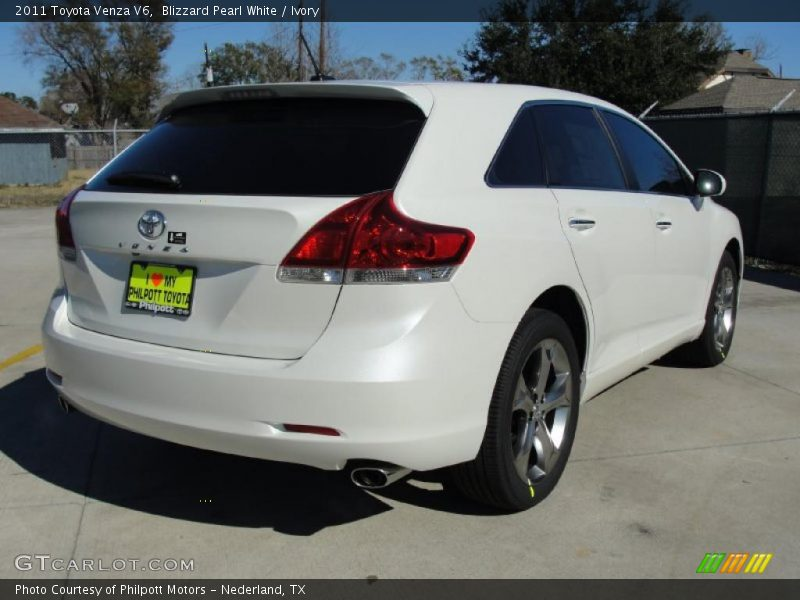 2011 toyota venza v6 in blizzard pearl white photo no. Black Bedroom Furniture Sets. Home Design Ideas