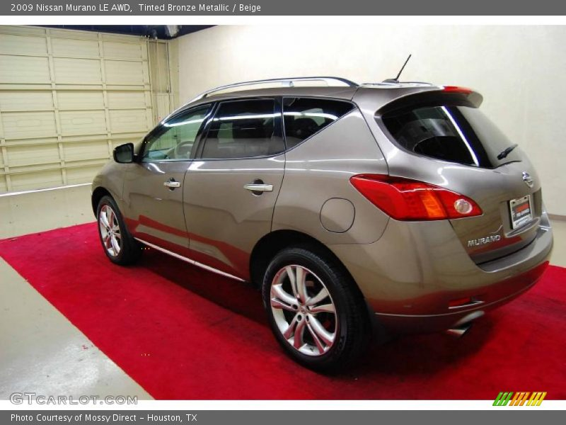 2009 nissan murano le awd in tinted bronze metallic photo. Black Bedroom Furniture Sets. Home Design Ideas