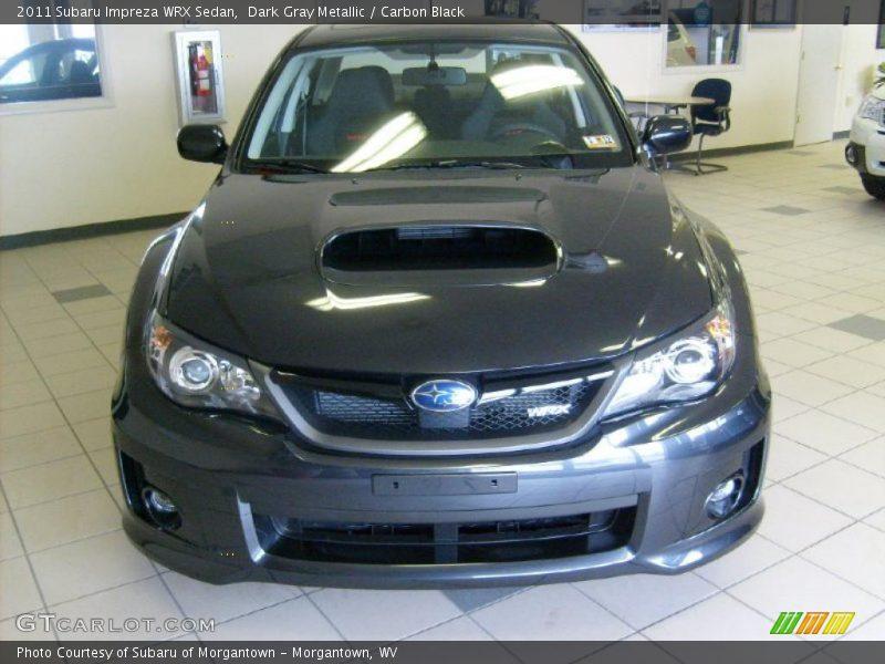 Dark Gray Metallic / Carbon Black 2011 Subaru Impreza WRX Sedan
