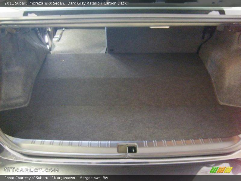 2011 Impreza WRX Sedan Trunk
