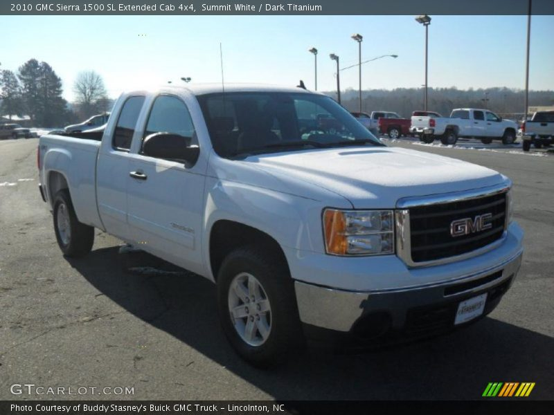 2010 gmc sierra 1500 sl extended cab 4x4 in summit white photo no 43024475. Black Bedroom Furniture Sets. Home Design Ideas