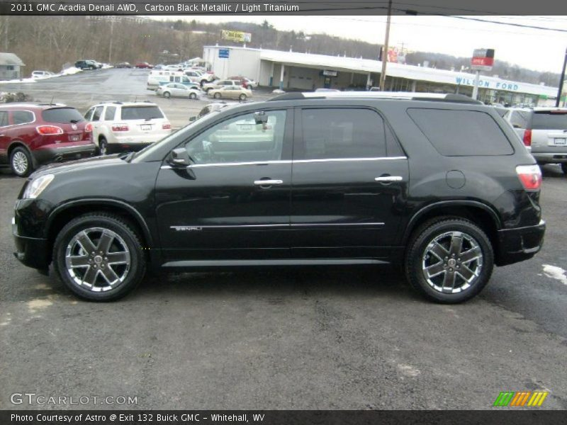2011 Acadia Denali AWD Carbon Black Metallic