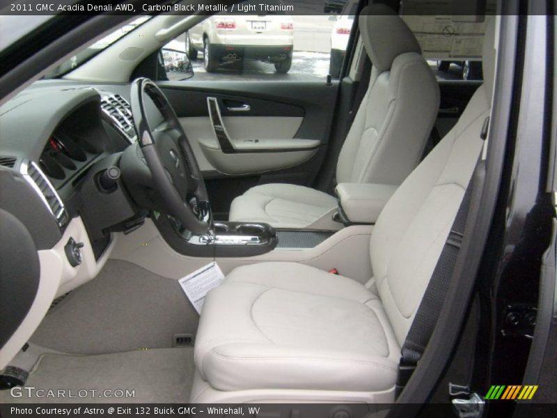 2011 Acadia Denali AWD Light Titanium Interior