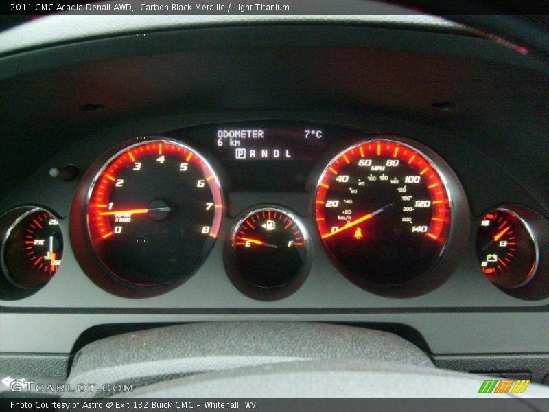 2011 Acadia Denali AWD Denali AWD Gauges