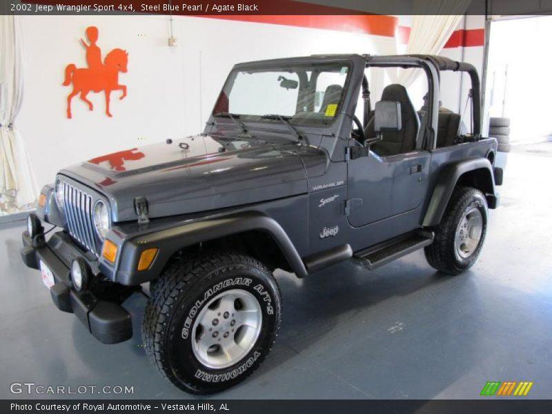 2002 jeep wrangler sport 4x4 in steel blue pearl photo no. Black Bedroom Furniture Sets. Home Design Ideas