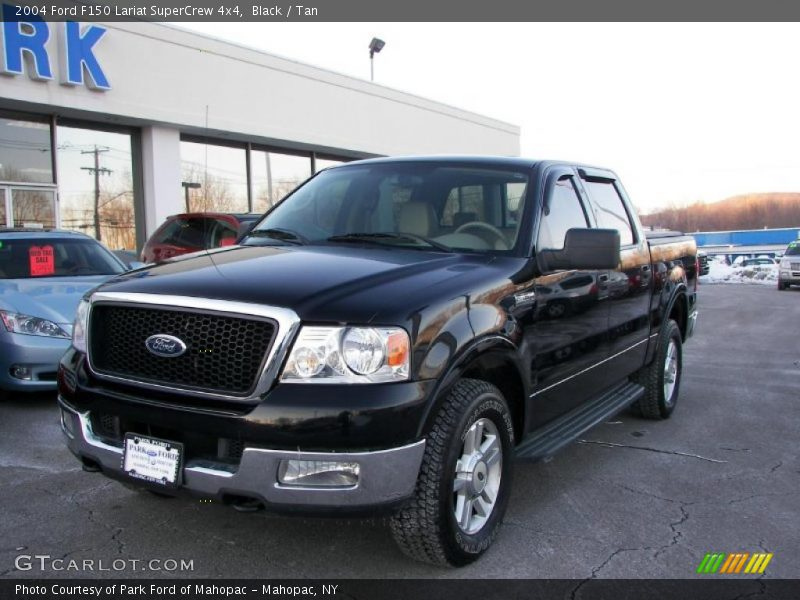 2004 ford f150 lariat supercrew 4x4 in black photo no 43864089. Black Bedroom Furniture Sets. Home Design Ideas