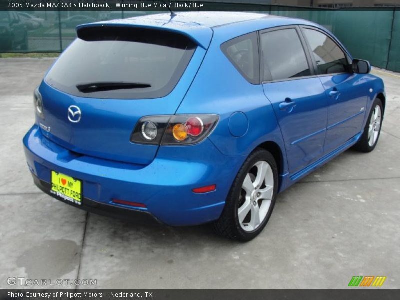 2005 mazda mazda3 s hatchback in winning blue mica photo. Black Bedroom Furniture Sets. Home Design Ideas