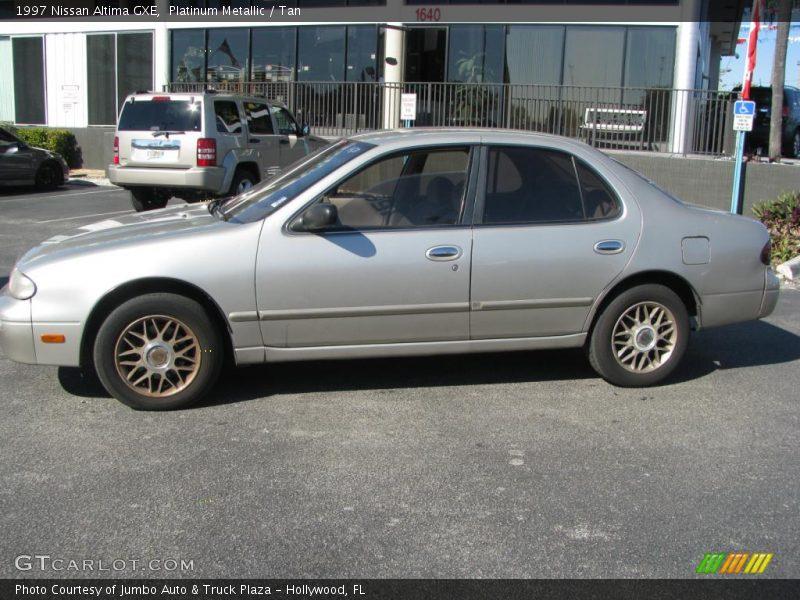 1997 Nissan Altima Gxe In Platinum Metallic Photo No