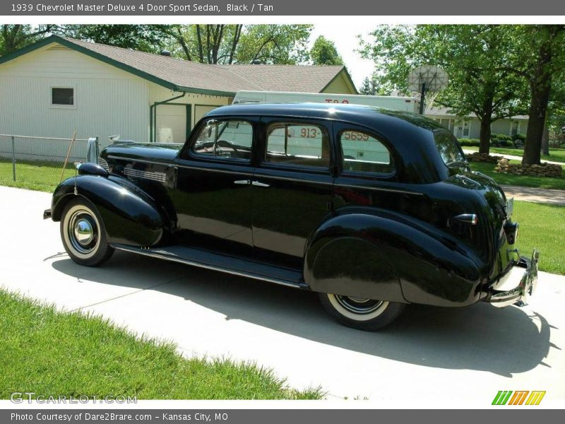 1939 chevrolet master deluxe 4 door sport sedan in black for 1939 chevy master deluxe 4 door