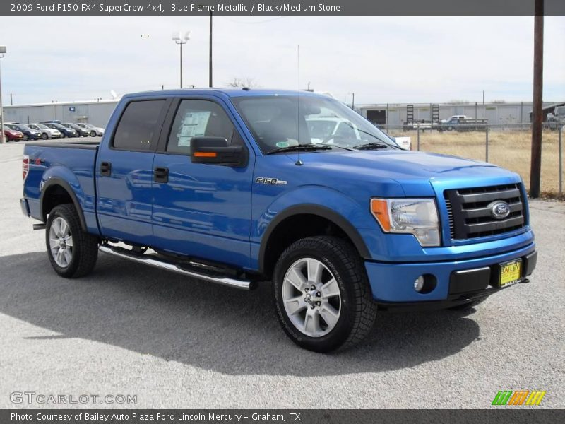 2009 ford f150 fx4 supercrew 4x4 in blue flame metallic. Black Bedroom Furniture Sets. Home Design Ideas