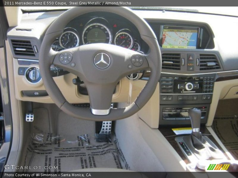 Dashboard of 2011 E 550 Coupe