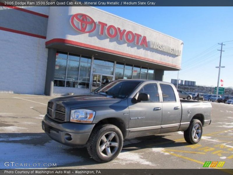 2006 dodge ram 1500 sport quad cab 4x4 in mineral gray metallic photo no 44829632. Black Bedroom Furniture Sets. Home Design Ideas