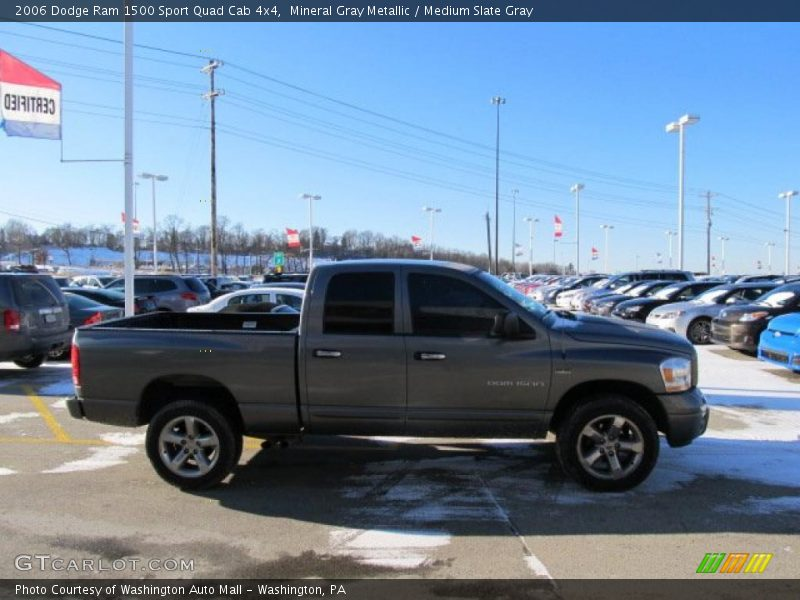 2006 dodge ram 1500 sport quad cab 4x4 in mineral gray metallic photo no 44829720. Black Bedroom Furniture Sets. Home Design Ideas