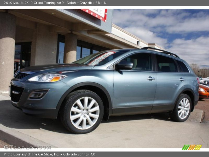 2010 mazda cx 9 grand touring awd in dolphin gray mica. Black Bedroom Furniture Sets. Home Design Ideas