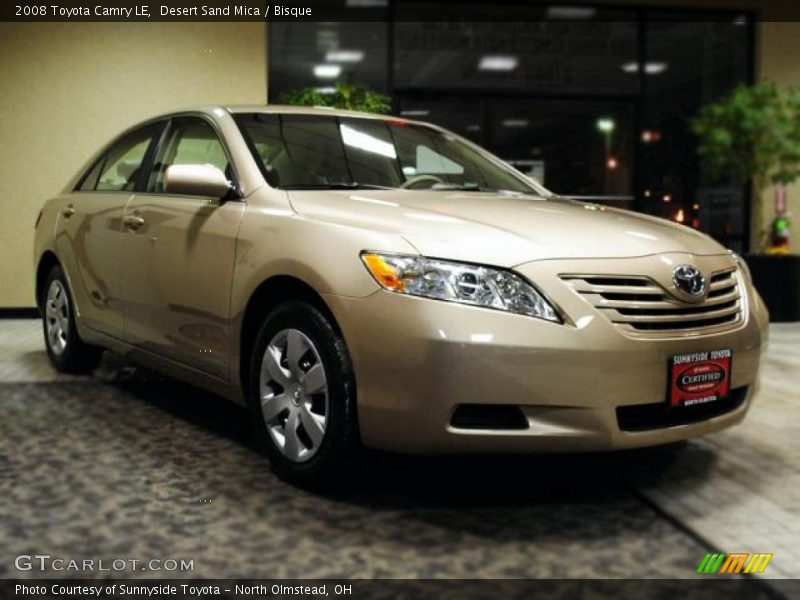 2008 toyota camry le in desert sand mica photo no 44867452. Black Bedroom Furniture Sets. Home Design Ideas