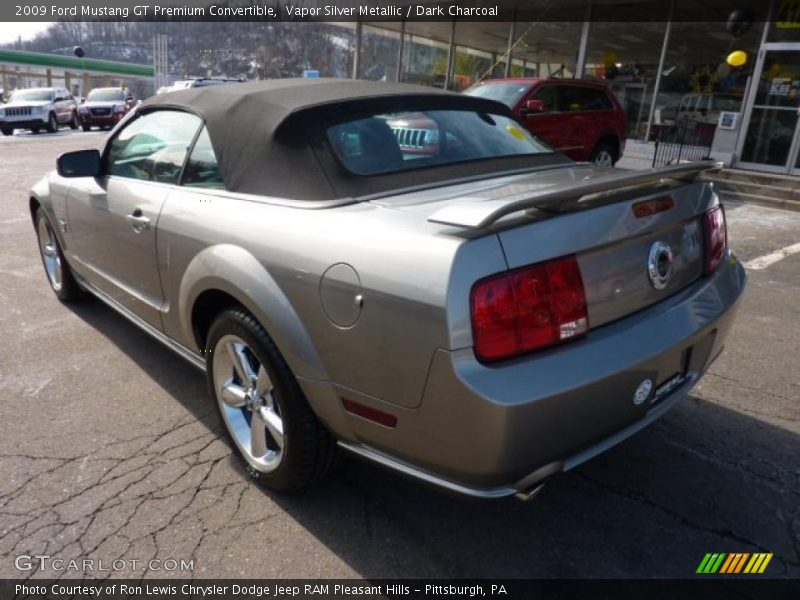 2009 Ford Mustang Gt Premium Convertible In Vapor Silver