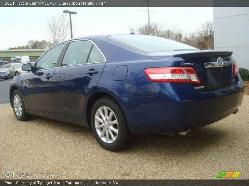 2011 toyota camry xle v6 in blue ribbon metallic photo no. Black Bedroom Furniture Sets. Home Design Ideas