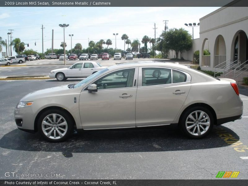 Smokestone Metallic / Cashmere 2009 Lincoln MKS Sedan