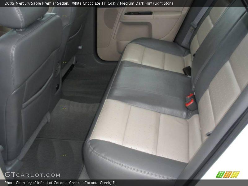 White Chocolate Tri Coat / Medium Dark Flint/Light Stone 2009 Mercury Sable Premier Sedan