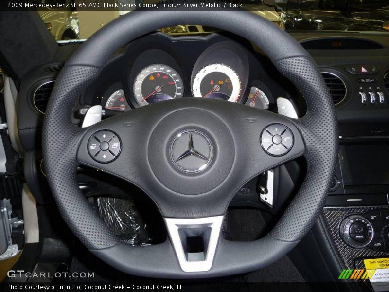 2009 SL 65 AMG Black Series Coupe Steering Wheel