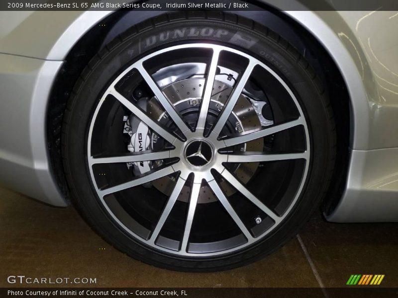 2009 SL 65 AMG Black Series Coupe Wheel