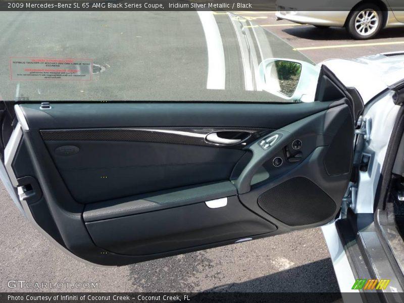 Door Panel of 2009 SL 65 AMG Black Series Coupe