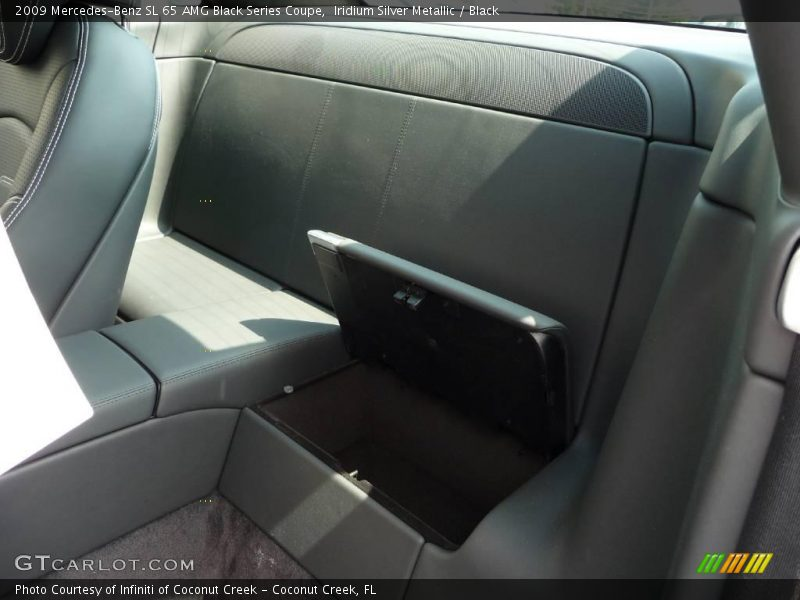 Iridium Silver Metallic / Black 2009 Mercedes-Benz SL 65 AMG Black Series Coupe