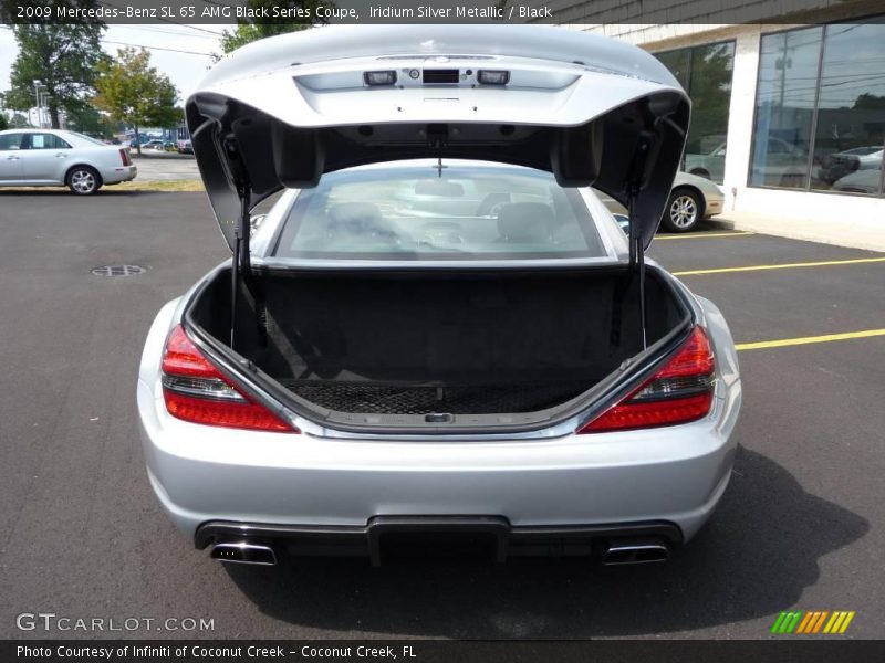 2009 SL 65 AMG Black Series Coupe Trunk