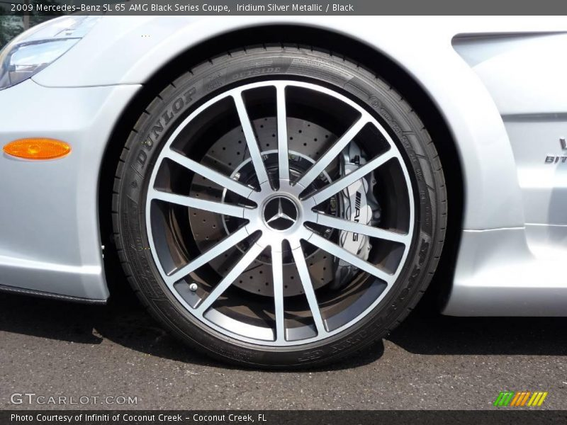 2009 SL 65 AMG Black Series Coupe Wheel