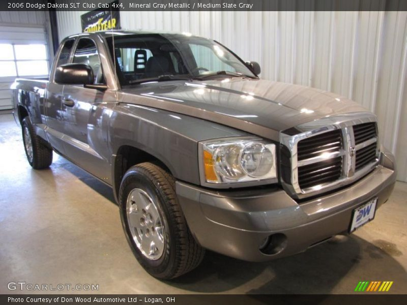 2006 dodge dakota slt club cab 4x4 in mineral gray metallic photo no 45094629. Black Bedroom Furniture Sets. Home Design Ideas