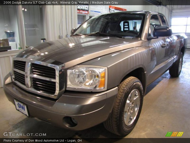 2006 dodge dakota slt club cab 4x4 in mineral gray metallic photo no 45094641. Black Bedroom Furniture Sets. Home Design Ideas