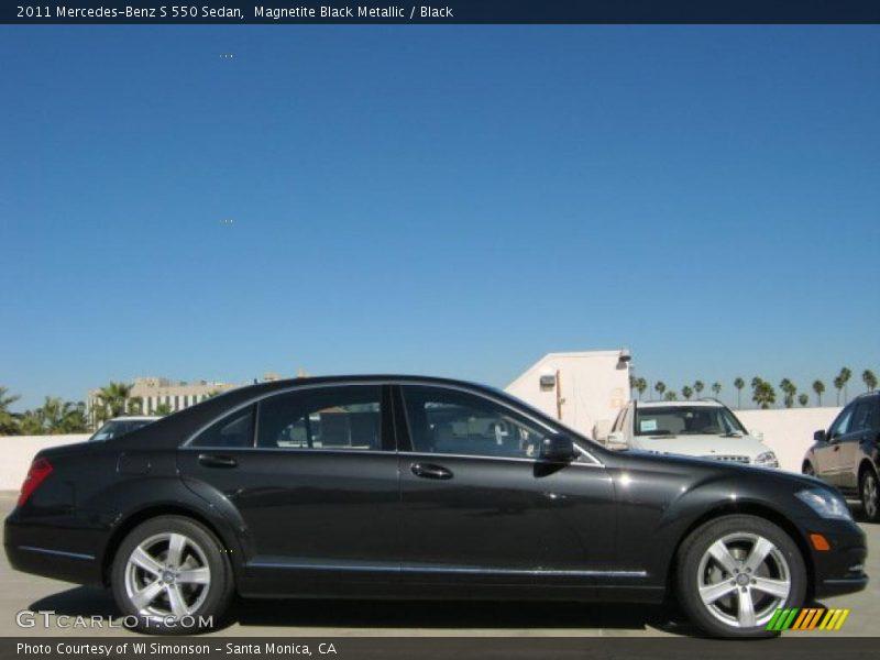 2011 S 550 Sedan Magnetite Black Metallic