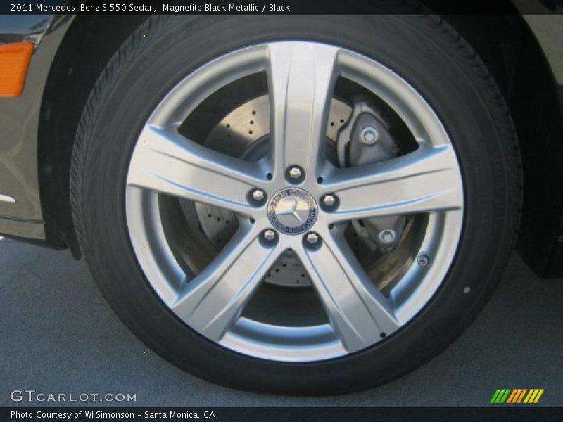 2011 S 550 Sedan Wheel