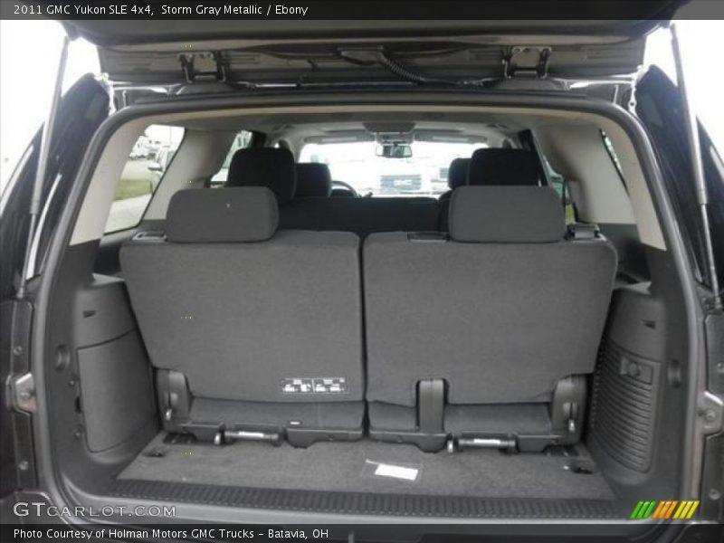2011 Yukon SLE 4x4 Trunk